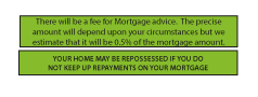 Mortgage Disclaimer